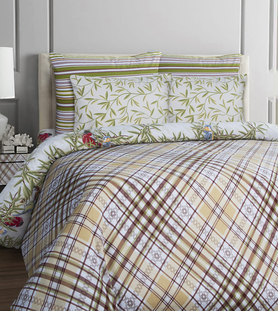 Комплект белья Mona Liza British Essex, 2-спальный, наволочки 70x70. 552203-75 комплекты белья
