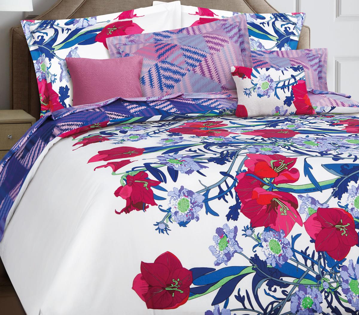 Комплект белья Mona Liza Premium Atelier Ikat, 1,5-спальный, наволочки 70x70. 5047-005