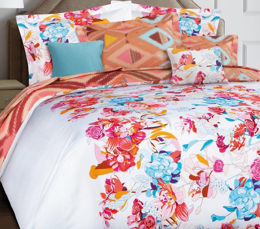 Комплект белья Mona Liza Premium Atelier Ikat, 1,5-спальный, наволочки 70x70. 5047-007