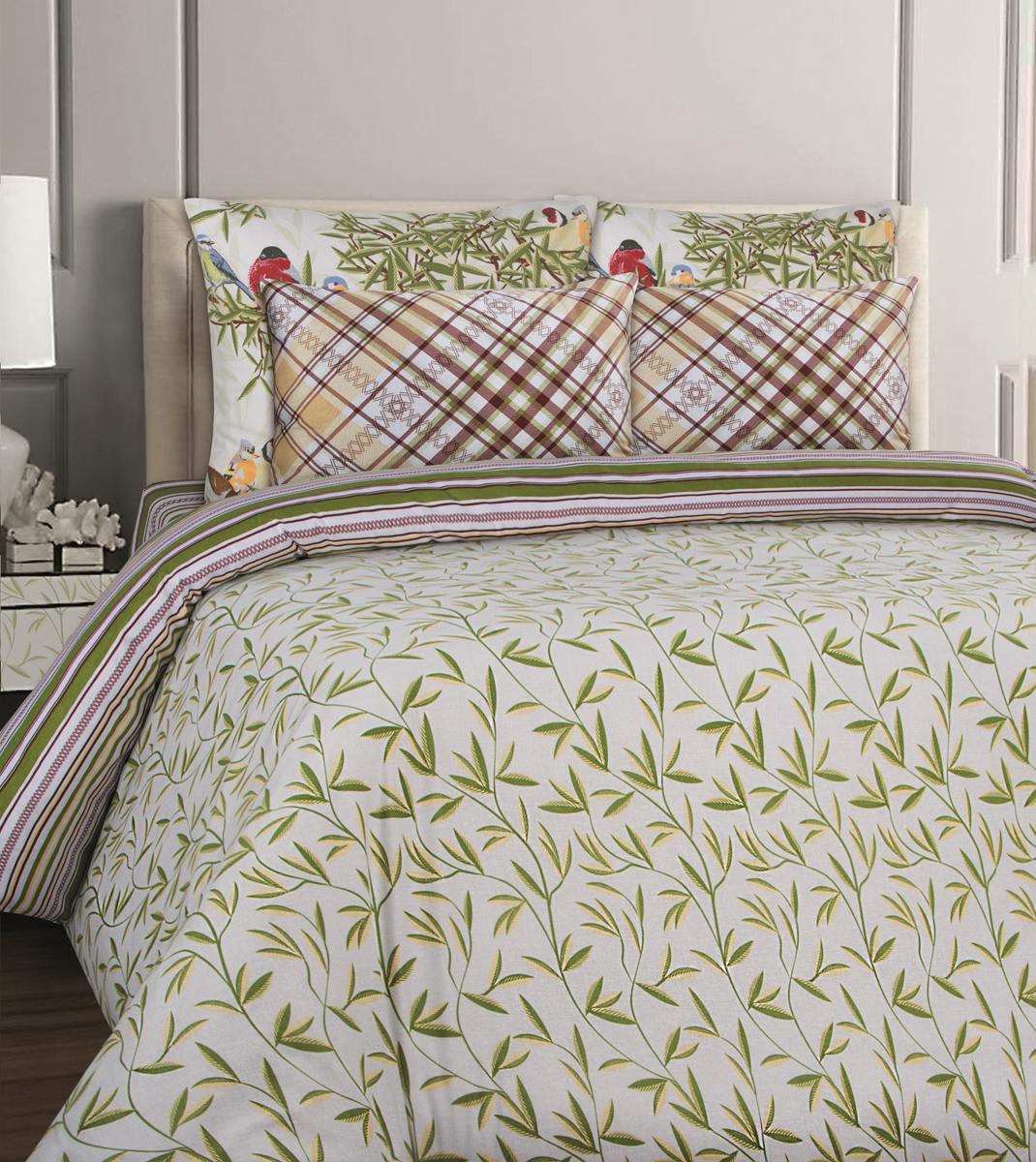 Комплект белья Mona Liza British Essex, 1,5-спальный, наволочки 70x70. 551114-76 комплект белья mona liza stone topaz 1 5 спальный наволочки 70x70 551114 63