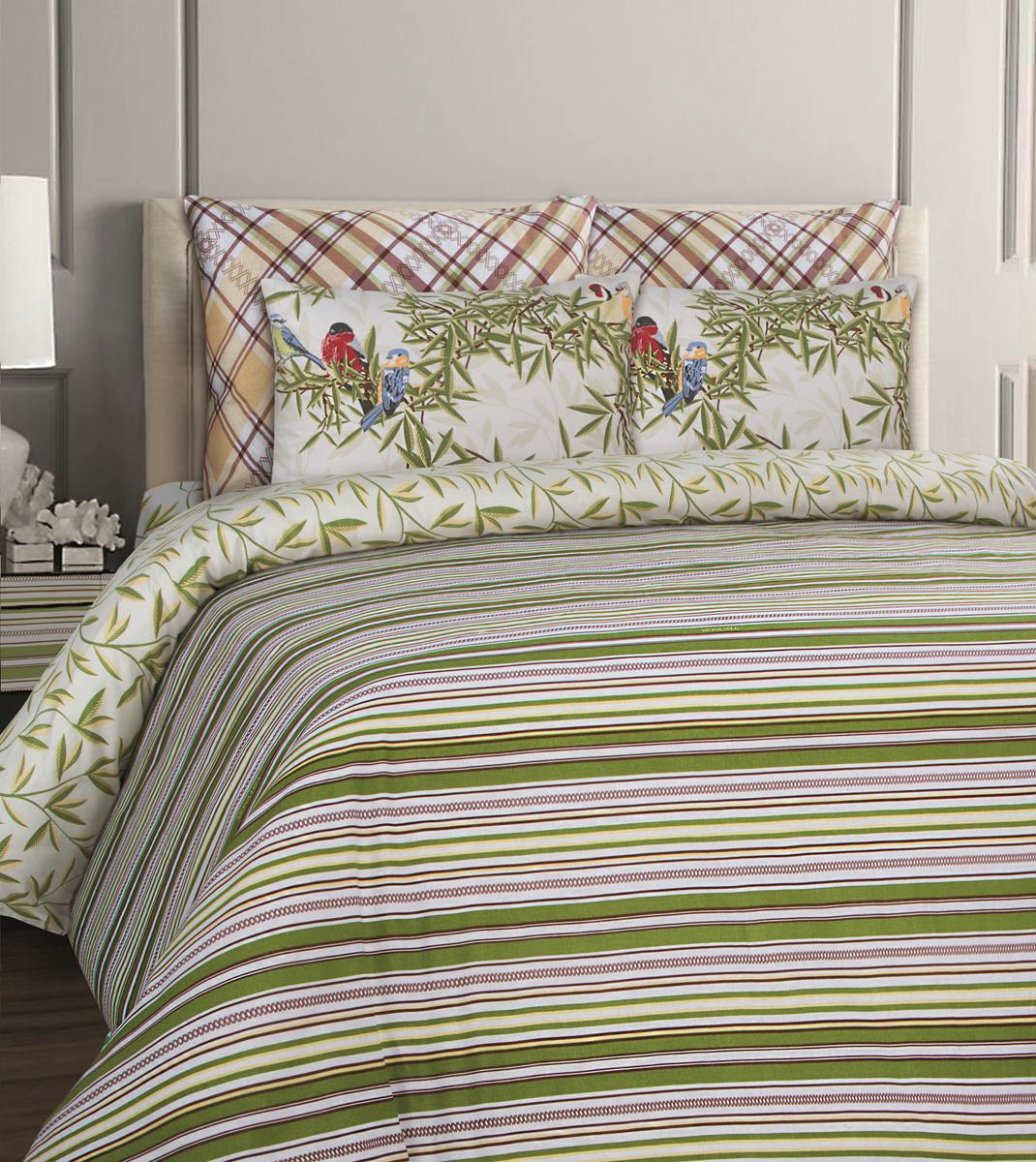Комплект белья Mona Liza British Essex, 1,5-спальный, наволочки 50x70. 551116-77 комплекты белья