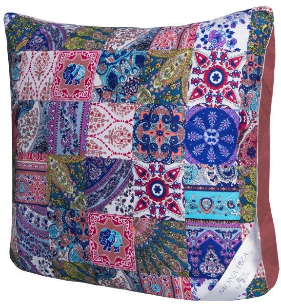 Подушка Mona Liza Persia, цвет: бордовый, 70 x 70 см. 559021 подушки mona liza подушка льняное волокно 50х70