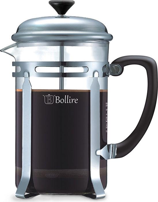 Объём френч-пресса Bollire 3204 составляет 1л,что идеально подходит для заваривания ароматного кофе или чая на кухне, для большой компании или в кругу семьи.Колба кофейника изготовлена из термостойкого стекла, которое способно выдерживать температуру от +10 *С до +100 *СФренч-пресс Bollire оснащён тонким сетчатым фильтром из высококачественной нержавеющей стали AISI 304,который сохраняет заварку внутри пресса.Материал корпуса френч пресса выполнен из хромированной стали придаёт френч прессу Bollire изысканный стиль.Для удобства и безопасности в использовании на колбе френч-пресса присутствует информация о продукте и мерах предосторожности.Модель Bollire 3204 поставляется с мерной ложкой в комплекте в качестве подарка.Простота в уходе и стильный дизайн френч-пресса не оставляют равнодушными к данной модели любителей свежезаваренного кофе и ароматного чая.