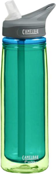 Термобутылка Camelbak Eddy, цвет: зеленый, 600 мл. 5354153541Термобутылка Camelbak Eddy объемом 0,6 литра, изготовленная из ударопрочного пластика Tritan. Без BPA, BPS, BPF. Уникальный состав, замедляющий рост бактерий! Не влияет на вкус и запах.