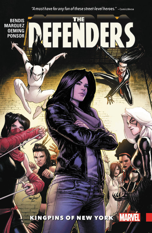 Defenders Vol. 2: Kingpins of New York crane stephen maggie a girl of the streets