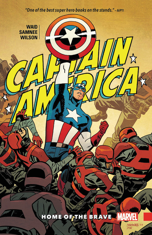 Captain America by Waid & Samnee: Home of the Brave avengers iron man black panther hawkeye captain america vision black widow pvc action figure collectible model toy boxed