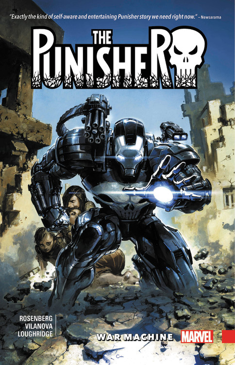 The Punisher: War Machine Vol. 1 frank turner and the sleeping souls calgary