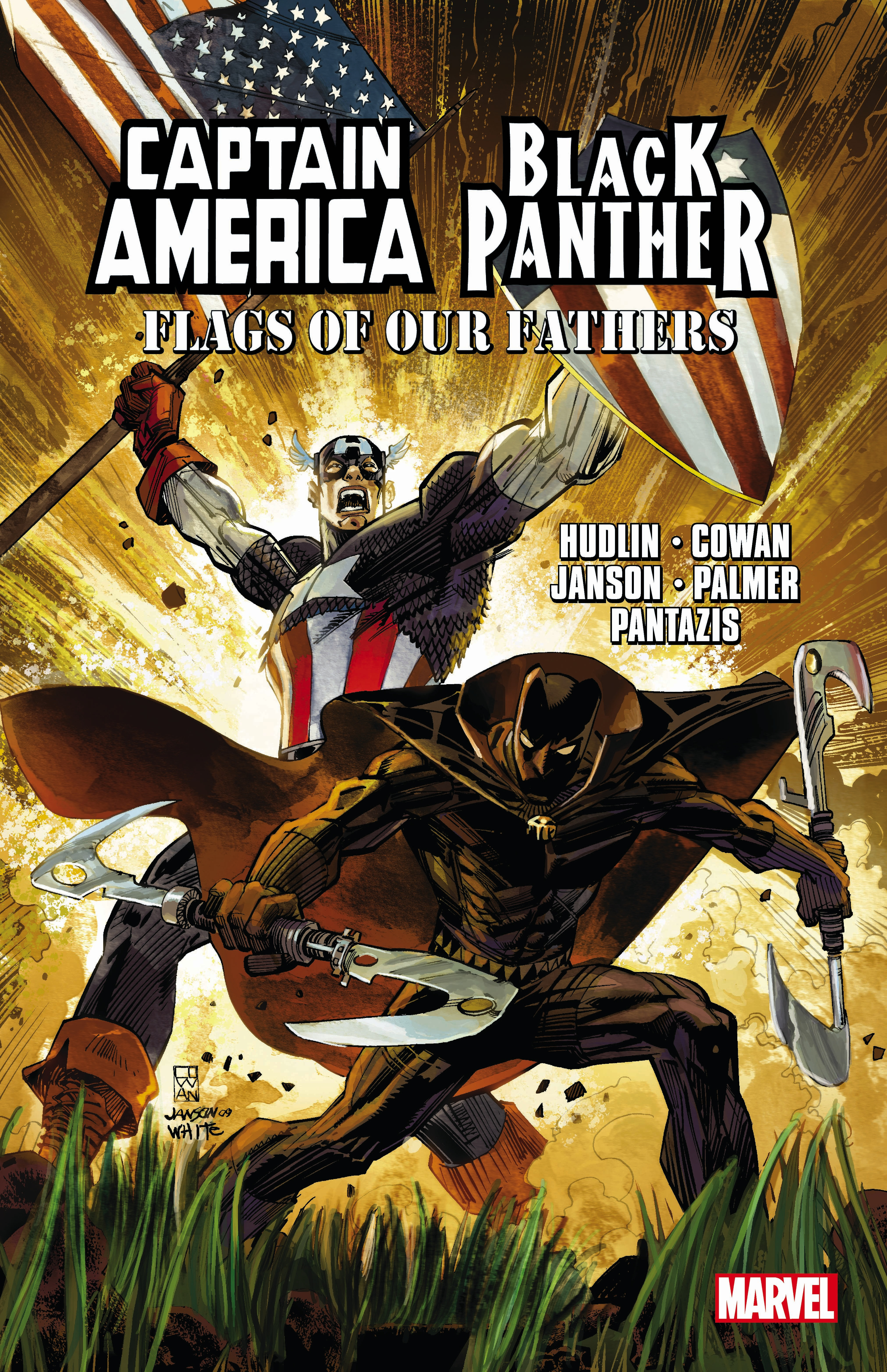 Captain America/Black Panther: Flags of our Fathers george leonard vose bridge disasters in america the cause and the remedy