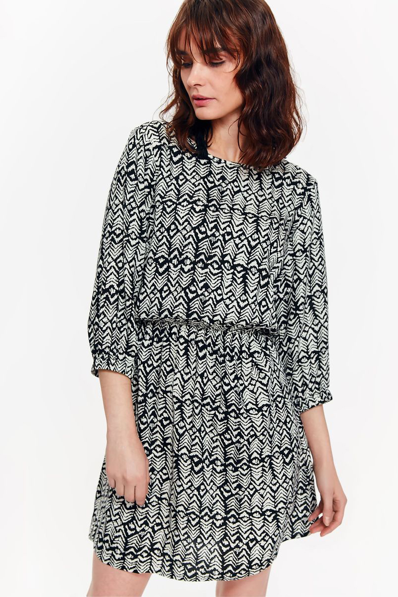 Платье женское Top Secret, цвет: черный. SSU2121CA. Размер 34 (42)