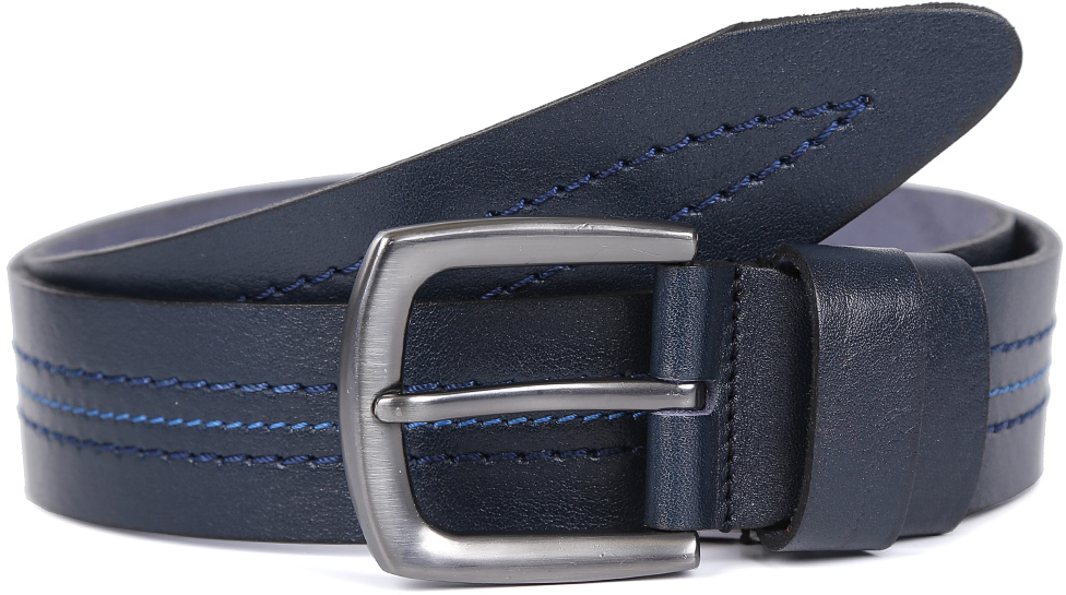 Ремень мужской Fabretti, цвет: синий. FR12340. Размер 125