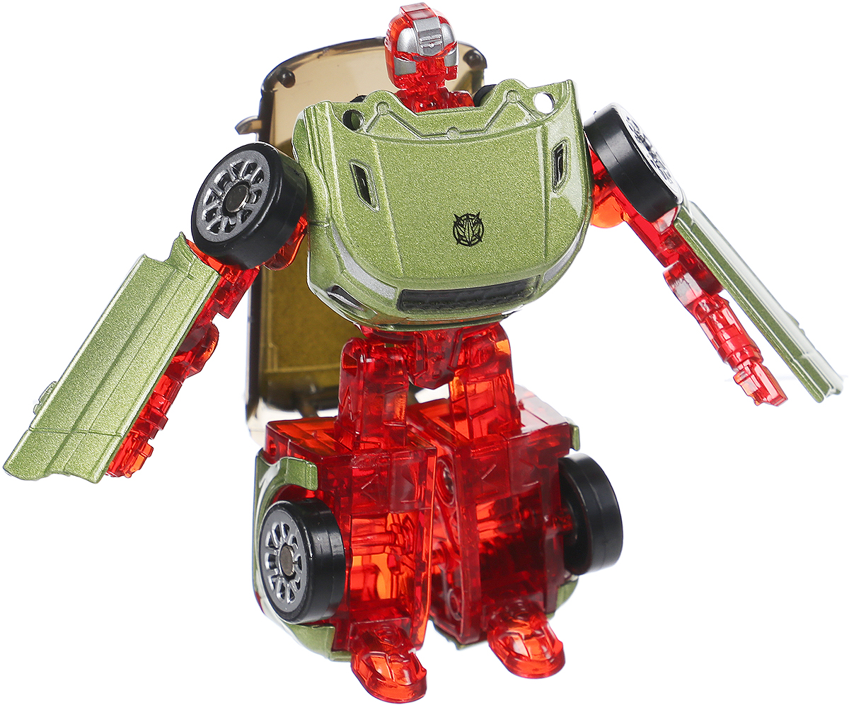 ABtoys Трансформер Космический робот цвет зеленый красный