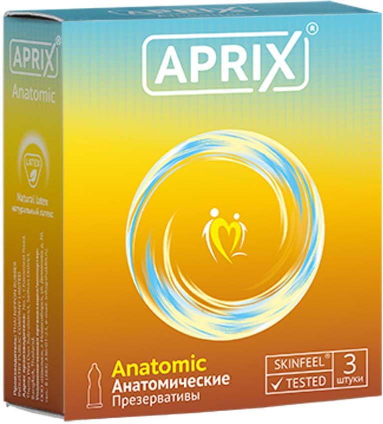 Aprix Презервативы Anatomic анатомические №3 3 хиты продаж размер д