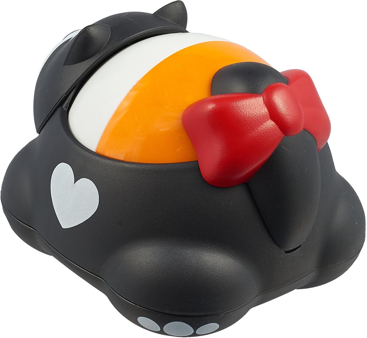 StellarРазвивающая игрушка-покатушка Котошарик черный Stellar