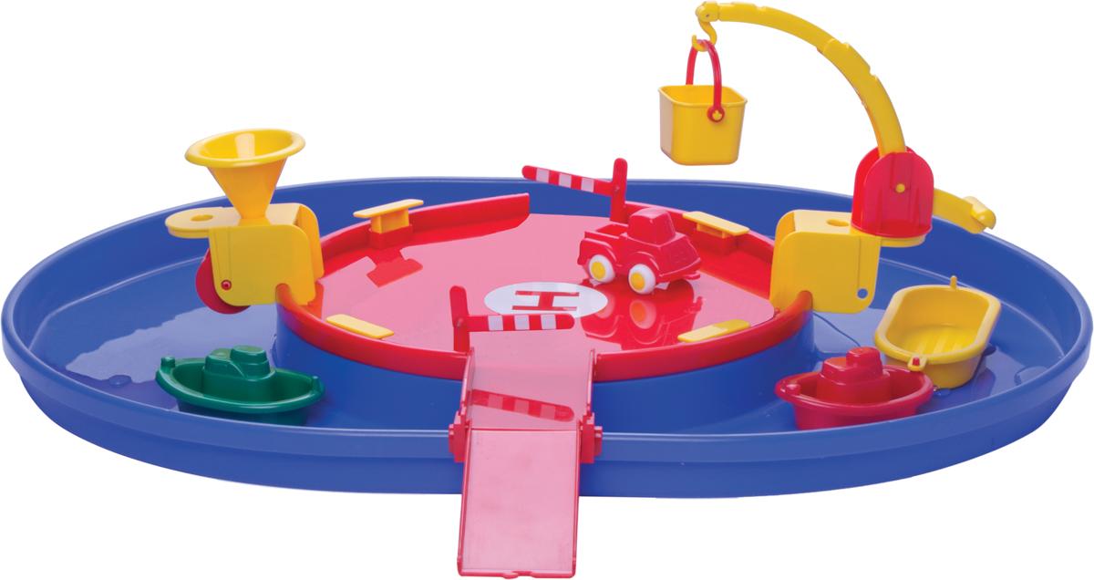 Viking Toys Игровой набор Viking City Порт с гаванью с техникой