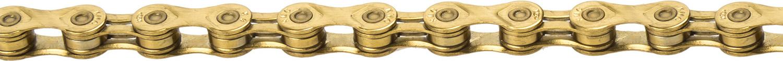 Цепь велосипедная КМС, Х-9 L-GOLD, 9 скор, 1/2x11/128, 112 звеньев, 274гр, Shimano/Campagnolo/SRAM, с замком