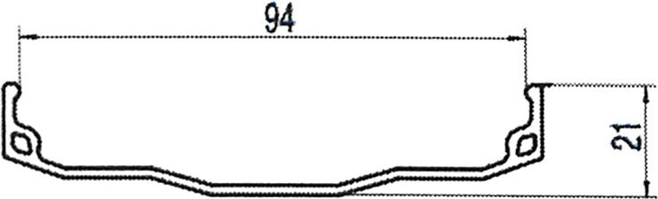 Обод Remerx, 26, для FatBike, 559х102/96х18мм, алюминий, на 32 спицы, одинарный, облегченный, цвет: черный