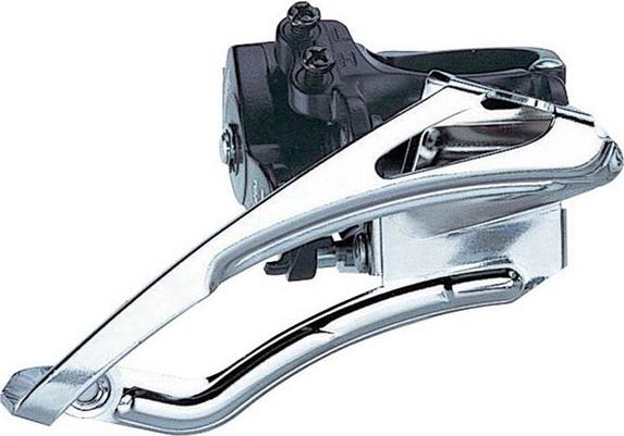 Передний переключатель Microshift FD-M42, хомут 34,9 мм переключатель передний shimano claris 2403 3 x 8 скоростей на упор