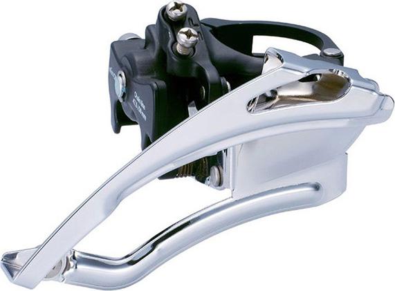 Передний переключатель Microshift Marvo LT FD-M50, 44/32/22T, хомут 34 переключатель передний shimano slx m7025 l нижний хомут для 2 х 11 скоростей нижняя тяга