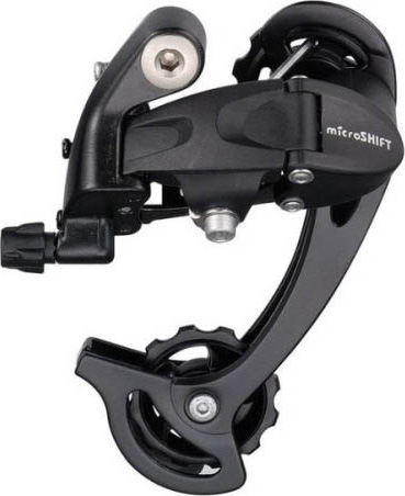 Задний переключатель Microshift Mezzo RD-M35L, длинная лапка microshift mtb group ts83 8 trip 3x8 speed fd r42f rd r32s front rear derailleur road bicycle components compatible for shimano