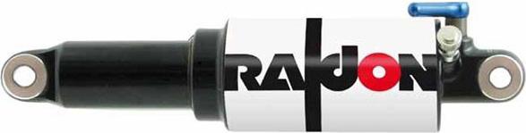 Амортизатор воздушный SUNTOUR RS12 Raidon LO, длина по осям 190 мм, ход 50 мм, блокировка хода, давление до 13, 5 атм, вес 285 грамм.