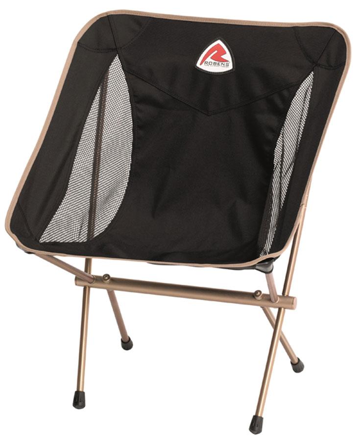 Комфортное кресло с широкой спинкой, прочным алюминиевым каркасом и сетчатыми панелями для обеспечения дополнительной вентиляции и комфорта. Модель отлично подойдет для отдыха на природе. Кресло можно использовать в качестве обеденного. Компактный размер упаковки, низкий вес. Прочный алюминиевый каркас. Транспортировочный чехол в комплекте. Сетчатые панели для дополнительной вентиляции и комфорта. Превосходная поддержка спины, идеально как обеденное кресло или кресло для отдыха. Транспортировочный чехол в комплекте, его можно прикрепить к каркасу и использовать как органайзер. Сбоку есть точка крепления держателя для бутылки Robens Bottle Holder.