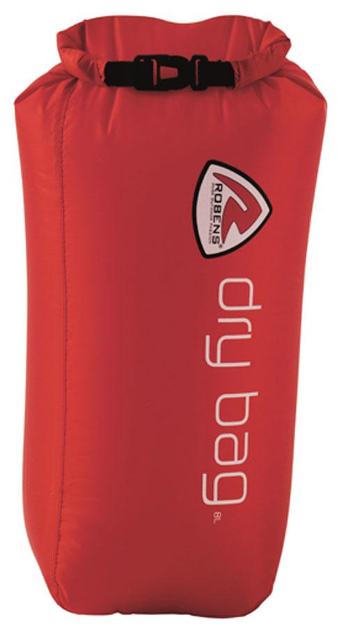 Гермомешок Robens Dry Bag, цвет: красный, 8 л stream trail creel dx waterproof dry bag backpack 5l messenger bag