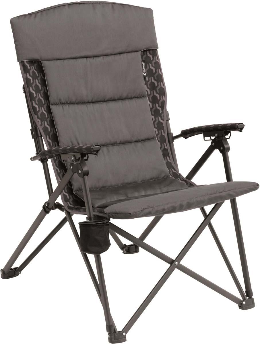 Кресло складное Outwell со съемным чехлом, цвет: серый, 60 х 85 х 108 см