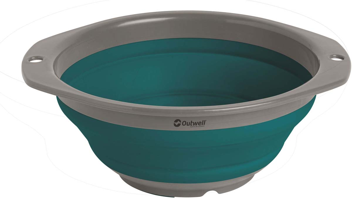 Миска складная Outwell Collaps Bowl S Deep Blue, цвет: синий, 9 х 20,5 см650690Легкая складная миска. Особенности:Складная.Компактная в сложенном виде.Легко развернуть и сложить.Ударопрочная.В состав не входит Бисфенол А.