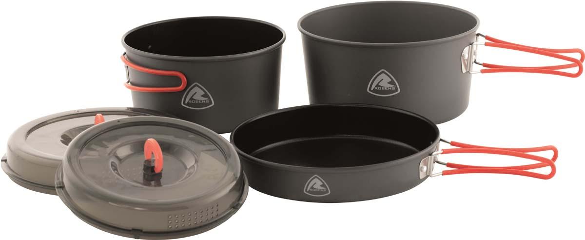 Набор посуды для газа Robens Colony Cook Set, 5 предметов