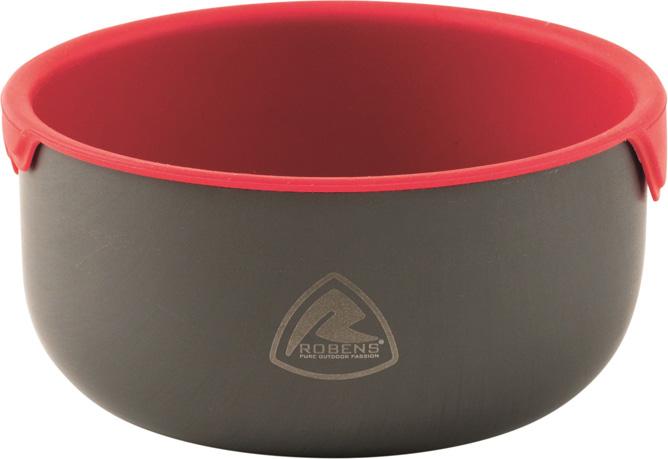 Чашка Robens Wilderness Bowl, 450 мл690150Чашка Robens Wilderness Bowl с силиконовой вставкой, которую можно вынимать и использовать в качестве отдельной емкости. Легкая и компактная модель. Силиконовая вставка без BPA, ее можно мыть в посудомоечной машине. Внешняя миска из высококачественного анодированного алюминия.