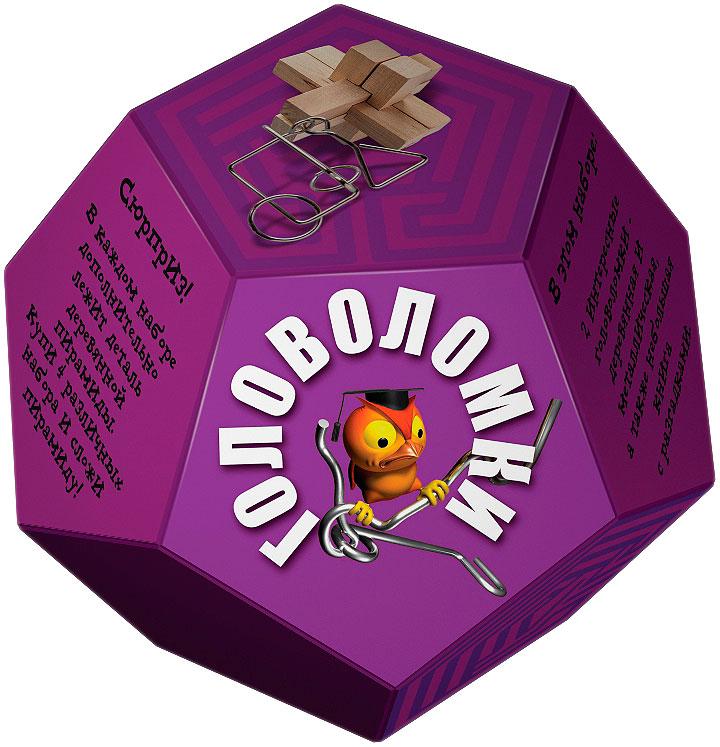 Маэстро Набор головоломок цвет фиолетовый 2 шт