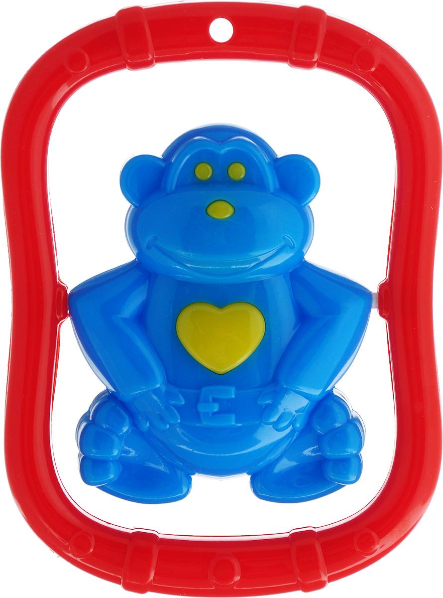 Stellar Погремушка Эквилибрист синяя обезьяна