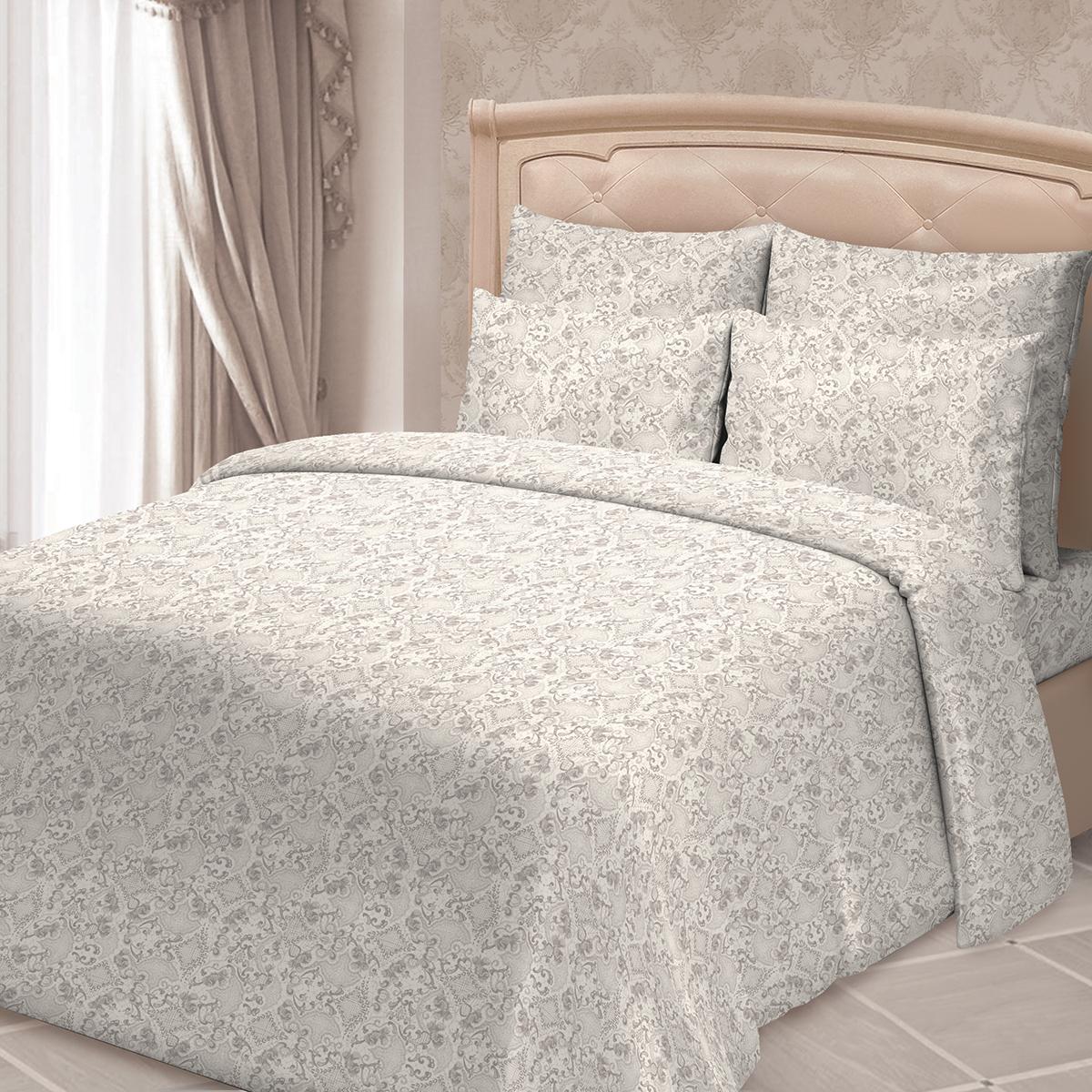 Комплект белья Сорренто Даниэла, 2-спальный, наволочки 70х70, цвет: серый комплекты белья