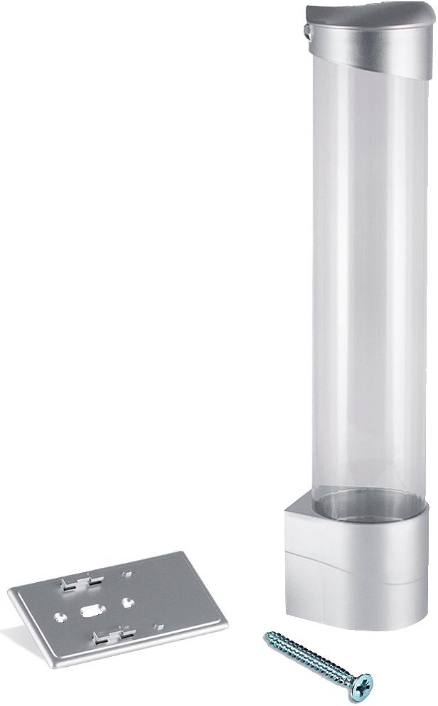 Aqua Work CH-1, Silver стаканодержатель на шурупах