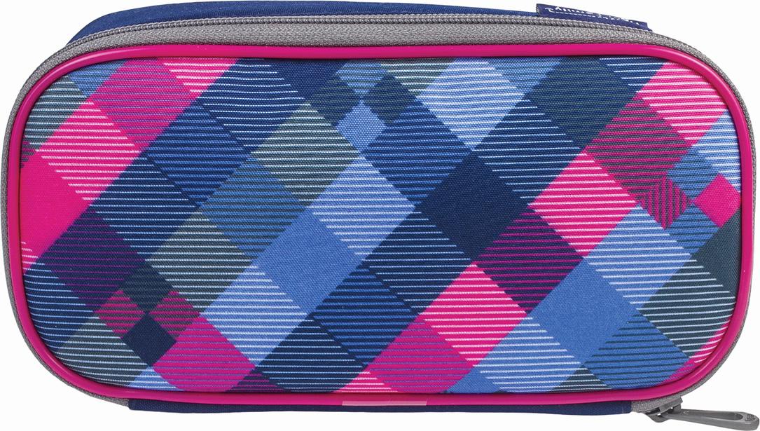 Tiger Family Пенал So Vibrant цвет синий розовый 227010 -  Пеналы