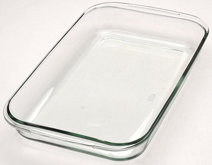 Жаровня изготовлена из термостойкого боросиликатного стекла. Форма жаровни прямоугольная с двумя ручками по краям. Жаровня будет отличным выбором для всех любителей блюд, приготовленных в духовке и микроволновой печи. Стеклянное изделие не вступает в реакцию с готовящейся пищей, а потому не выделяет никаких вредных веществ, не подвергается воздействию кислот и солей. Из-за невысокой теплопроводности пища в стеклянной посуде гораздо медленнее остывает. Стеклянная посуда очень удобна для приготовления и подачи самых разнообразных блюд: супов, вторых блюд, десертов. Подходит для использования в духовках, микроволновых печах и морозильных камерах (при постепенном охлаждении и нагреве выдерживает температуру от -40?С до 400?С). Подходит для мытья в посудомоечной машине.