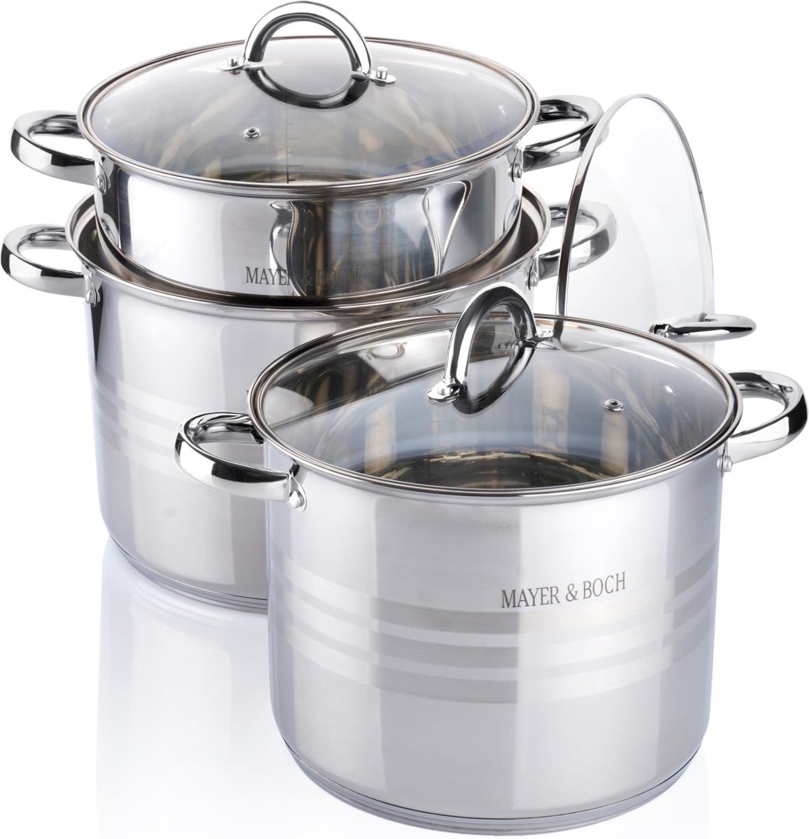 Набор посуды Mayer & Boch, 6 предметов. 26698 набор посуды mayer