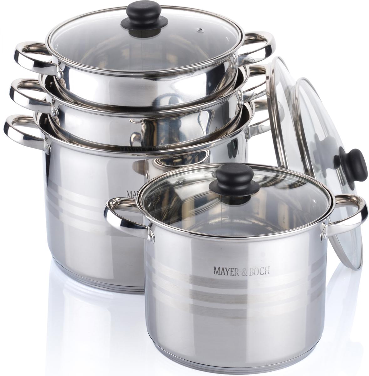 Набор посуды Mayer & Boch, 8 предметов. 26702 набор посуды mayer
