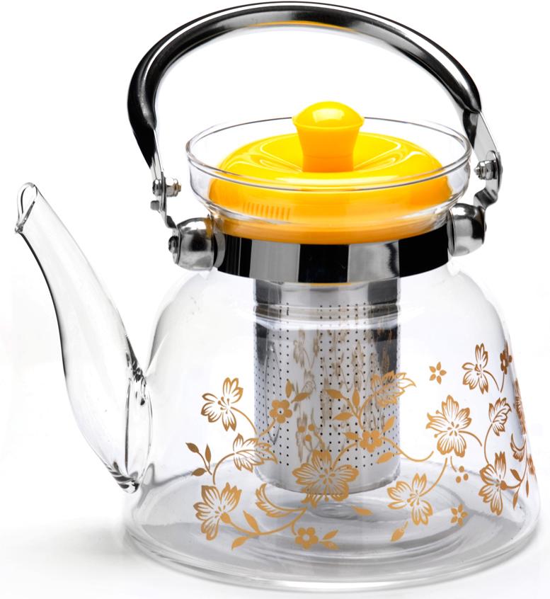 Заварочный чайник MAYER&BOCH изготовлен из термостойкого боросиликатного стекла, фильтр выполнены из нержавеющей стали. Изделия из стекла не впитывают запахи, благодаря чему вы всегда получите натуральный, насыщенный вкус и аромат напитков. Заварочный чайник из стекла удобно использовать для повседневного заваривания чая практически любого сорта. Но цветочные, фруктовые, красные и желтые сорта чая лучше других раскрывают свой вкус и аромат при заваривании именно в стеклянных чайниках, а также сохраняют все полезные ферменты и витамины, содержащиеся в чайных листах. Стальной фильтр гарантирует прозрачность и чистоту напитка от чайных листьев, при этом сохранив букет и насыщенность чая. Прозрачные стенки чайника дают возможность насладиться насыщенным цветом заваренного чая. Изящный заварочный чайник MAYER&BOCH будет прекрасно смотреться в любом интерьере. Подходит для мытья в посудомоечной машине.
