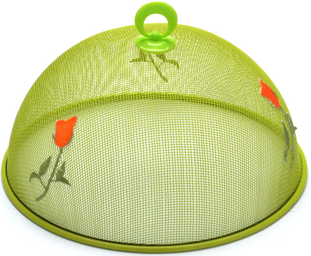 """Крышка """"Mayer & Boch"""" защита от насекомых, выполненная из высококачественной стали. Куполообразная крышка оснащена ручкой. Простая и удобная в применении крышка защитит ваши продукты от ос, мух, комаров и других надоедливых насекомых. Данная модель отлично подойдет для использования на природе, даче или пикнике."""