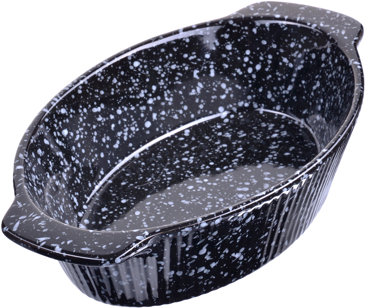 "Форма для запекания ""Loraine"", цвет: черный, 29 х 18 х 6 см. 27801"