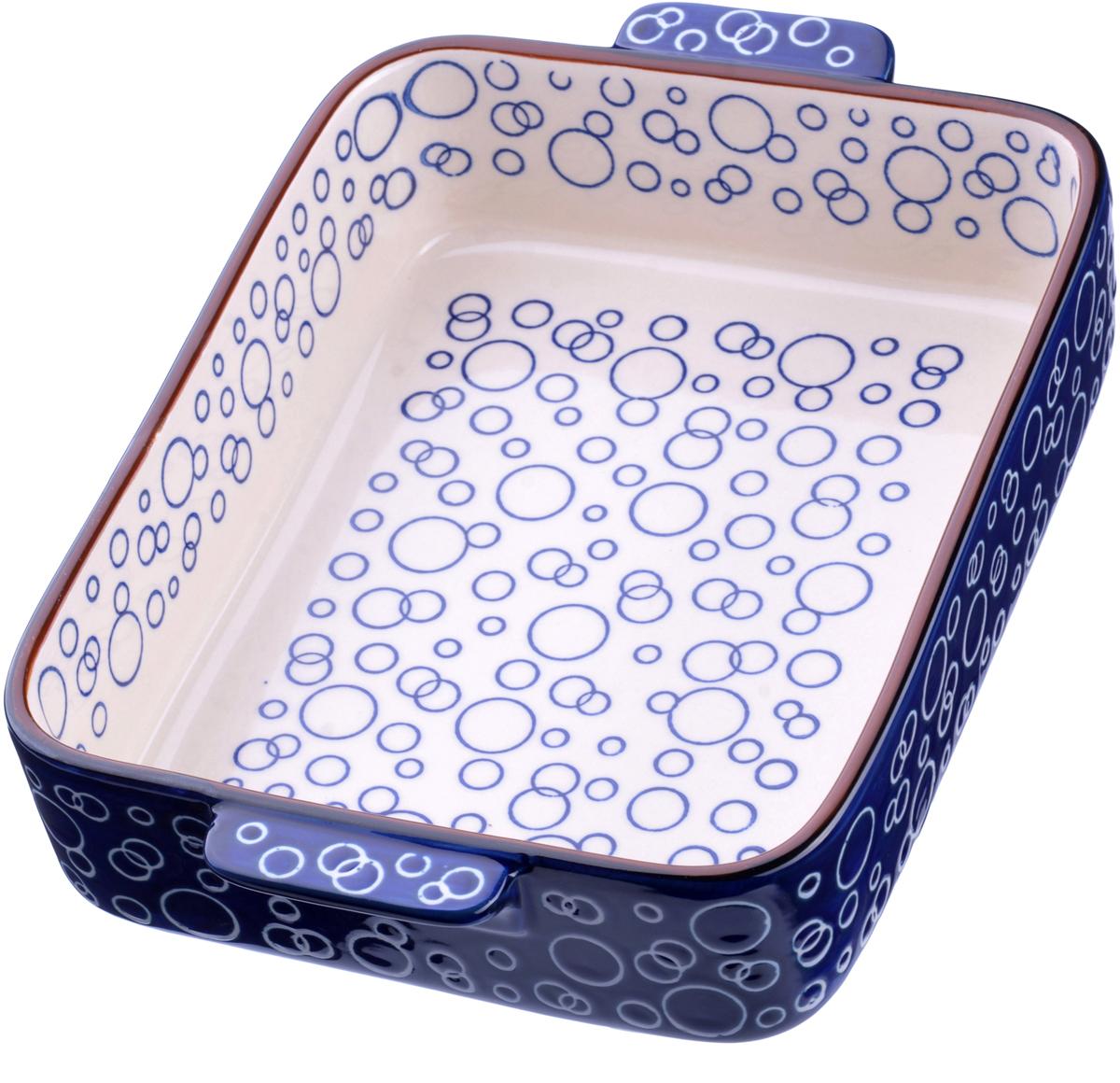 """Форма для запекания """"Loraine"""" выполнена из качественной жаропрочной  керамики. Изделие имеет прочные стенки и дно, однородные по толщине,  благодаря чему нагрев происходит равномерно. Форма подходит для  запекания и тушения разнообразных продуктов. Изделие не впитывает  посторонние запахи, не имеет труднодоступных выступов или изгибов, которые  накапливают грязь, и легко чистится.  Жаропрочная керамика выдерживает температуру от -20°С до 400°С, поэтому  такую форму можно использовать в духовке, микроволновой и конвекционной  печи, а также для хранения пищи в холодильнике и морозильной камере. Не  подходит для использования на открытом огне. Подходит для мытья в  посудомоечной машине."""
