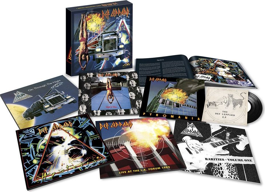 Def Leppard Def Leppard. Vinyl Collection One (LP) def leppard def leppard vault greatest hits 2 lp