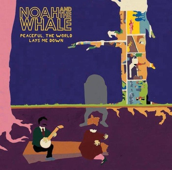 Noah And The Whale Noah And The Whale. Peaceful. The World Lays Me Down (LP) bona new classics style men running shoes mesh men athletic shoes lace up men outdoor sneakers shoes light soft free shipping