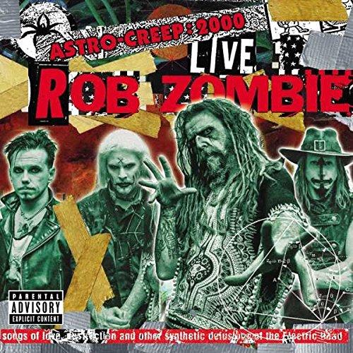 Роб Зомби Rob Zombie. Astro-Creep. 2000 Live (LP)
