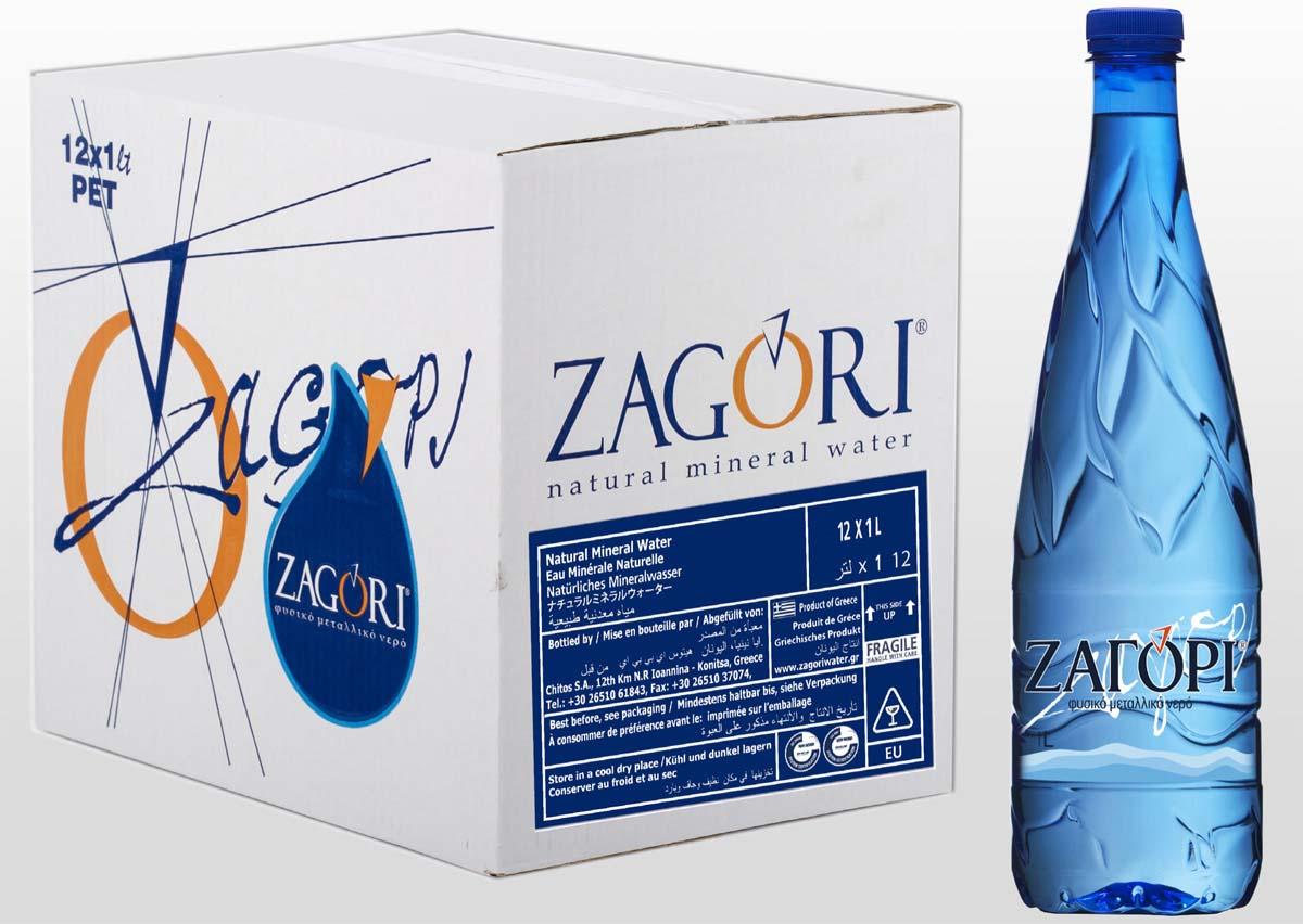 Zagori Вода природная минеральная столовая негазированная, 12 шт по 1 л zagori вода природная минеральная столовая негазированная 12 шт по 1 л