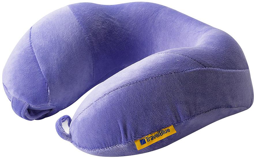 Подушка для путешествий Travel Blue Tranquility Pillow, с эффектом памяти, цвет: фиолетовый, 25 х 25 х 10 см