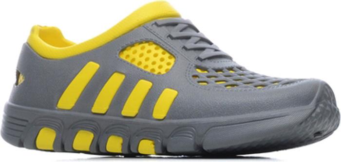 Галоши мужские Speci.All, цвет: серый, желтый. 110 М. Размер 44/45