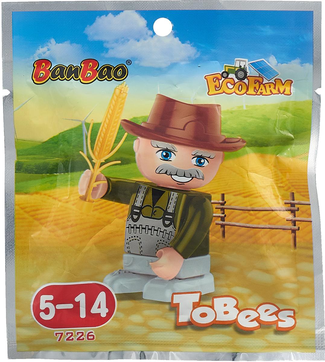 BanBao Конструктор Фигурка Tobees 7226