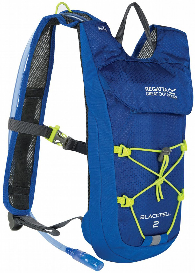 Рюкзак туристический Regatta Blackfell II, цвет: синий, светло-зеленый, 2 л туристический рюкзак adidas s20091 2015